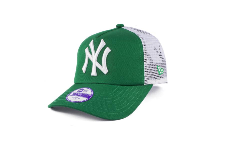 Зеленая Детская бейсболка New Era