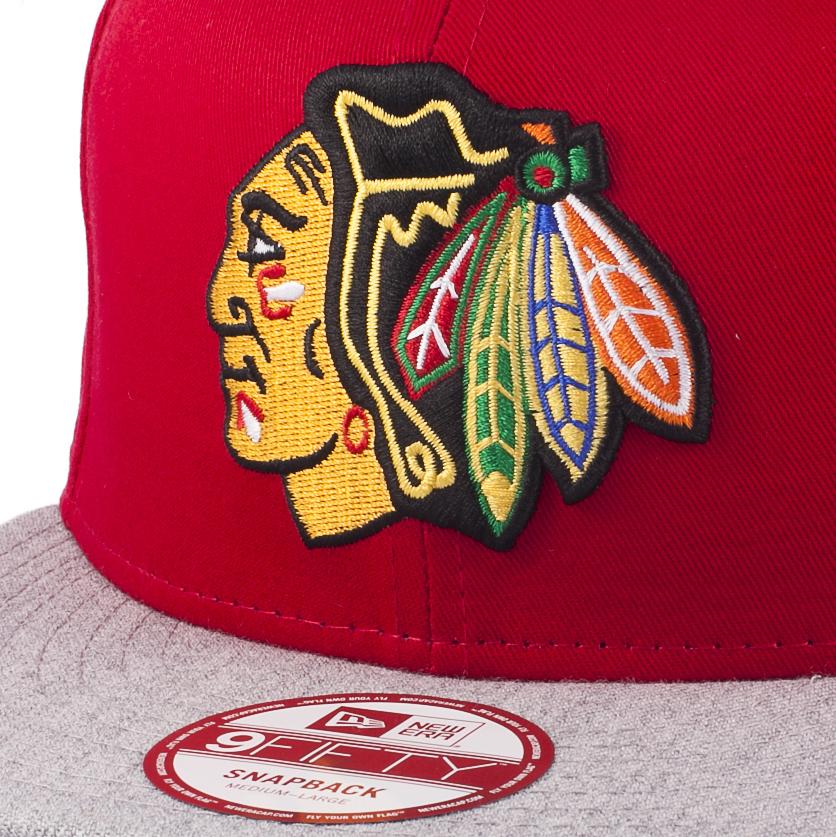 Бейсболка TEAM SNAP Chicago Blackhawks New Era