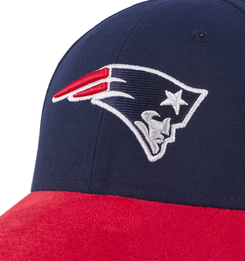 Бейсболка SUEDE DAZZLE New England Patriots
