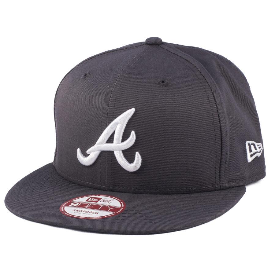 Кепка с прямым козырьком Atlanta Braves