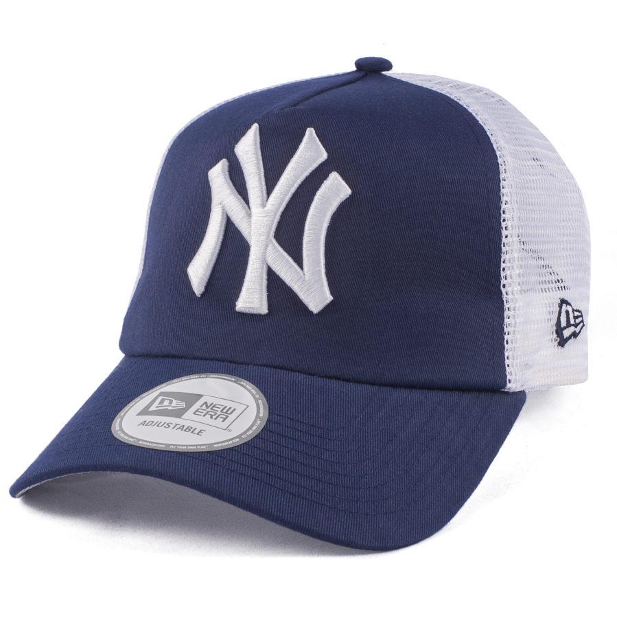 Бейсболка-тракер NY синяя