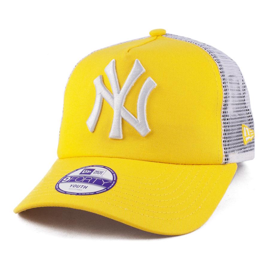 Детская кепка New York NY Желтая
