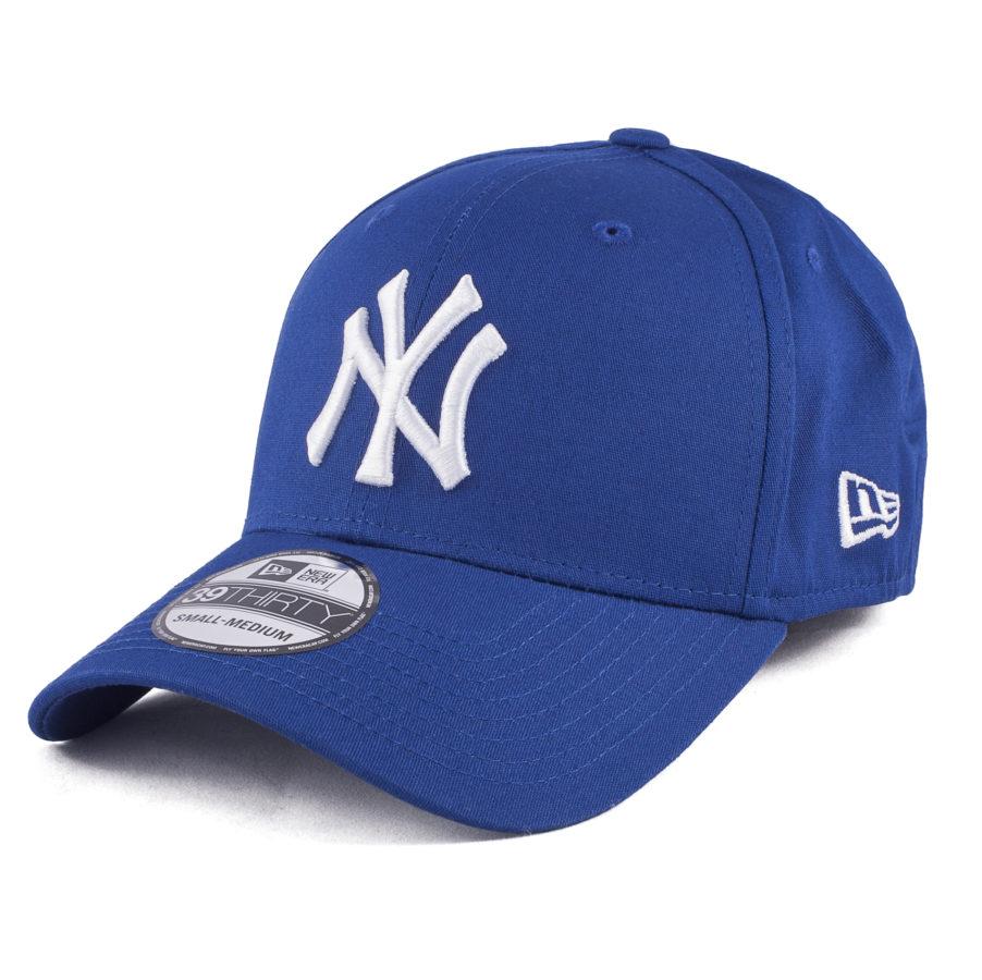 Синяя бейсболка NY New Era 39Thirty