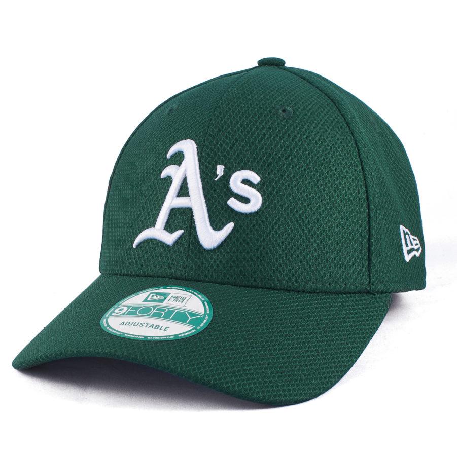 Кепка Oakland Athletics зеленая