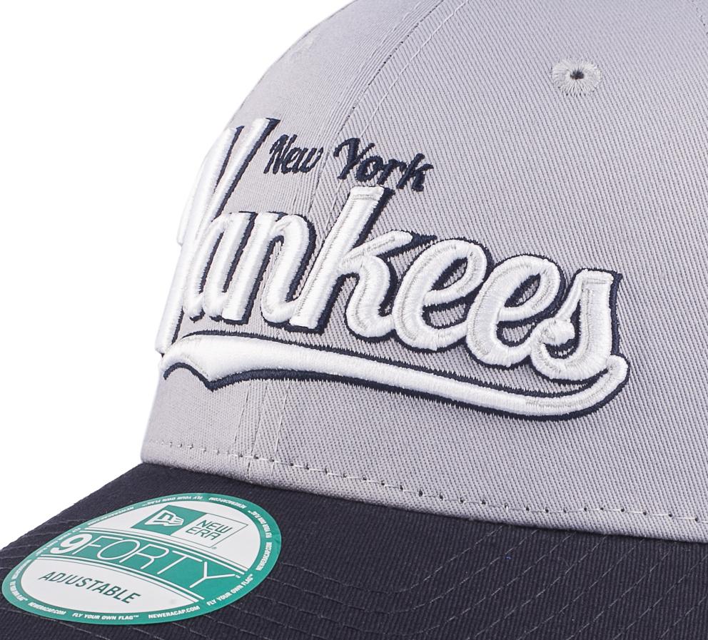 Бейсболка SCRIPT CROWN New York Yankees