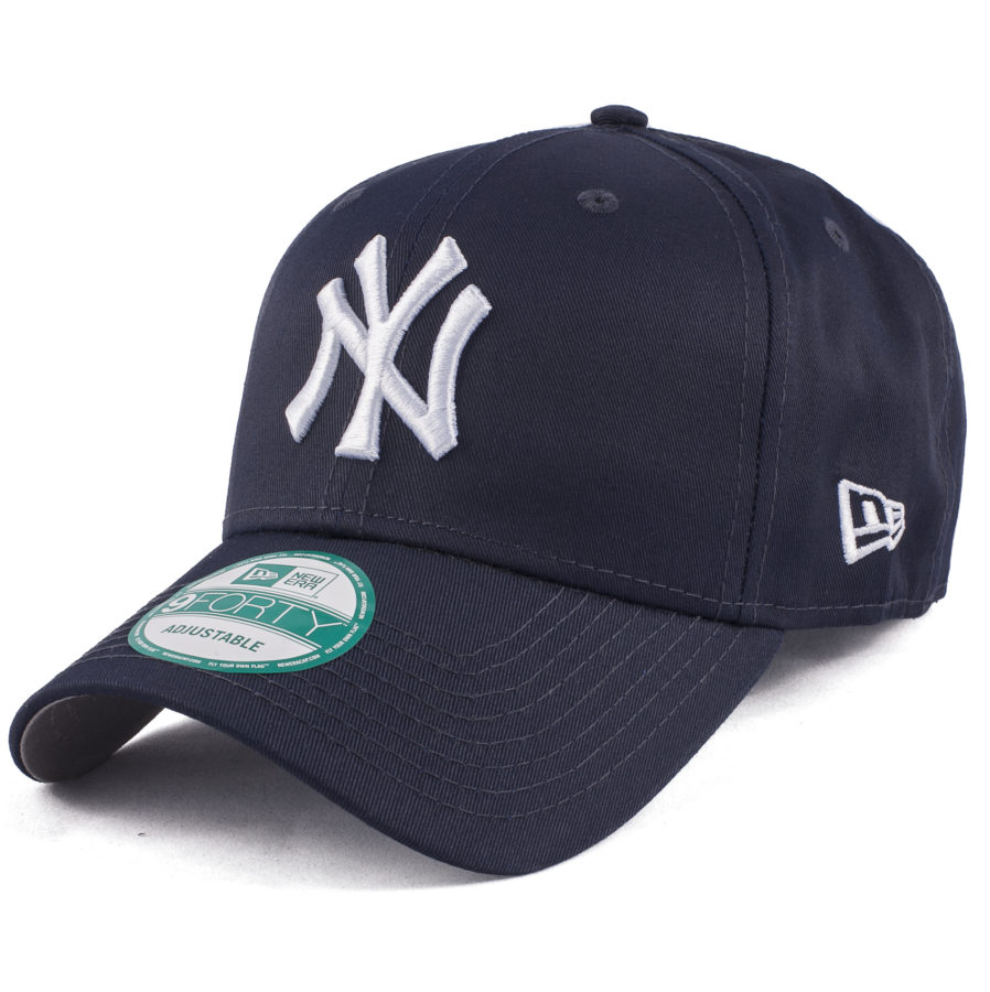 Темно синяя бейсболка NY