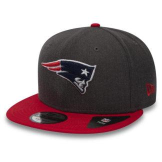11871353 Бейсболка New Era NFL Heather New England Patriots