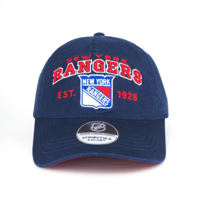 31026-Бейсболка-NHL-New-York-Rangers-c-мягким-куполом-atibutika-and-club