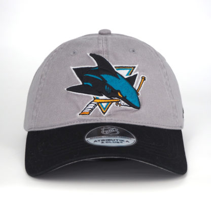 29065-Бейсболка-NHL-San-Jose-Sharks-Серая-Atributika-Club