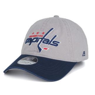 31026-Бейсболка-NHL-Washington-Capitals-Серая-Atributika-Club