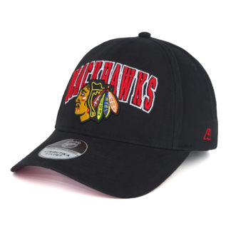 31157-Бейсболка-NHL-Chicago-Blackhawks-черная-atributika