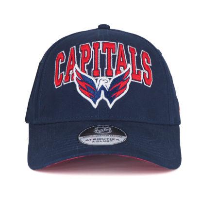 Бейсболка NHL WASHINGTON CAPITALS NAVY ATRIBUTIKA