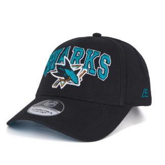 31173-Подростковая-бейсболка-NHL-San-Jose-Sharks-черная
