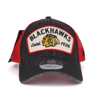 Подростковая-Бейсболка-NHL-Vintage-Chicago-Blackhawks-с-сеткой