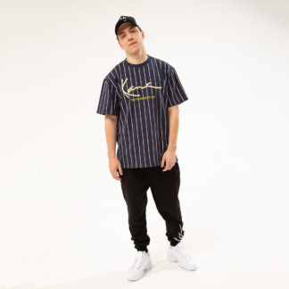 Мужская футболка Karl Kani в полоску