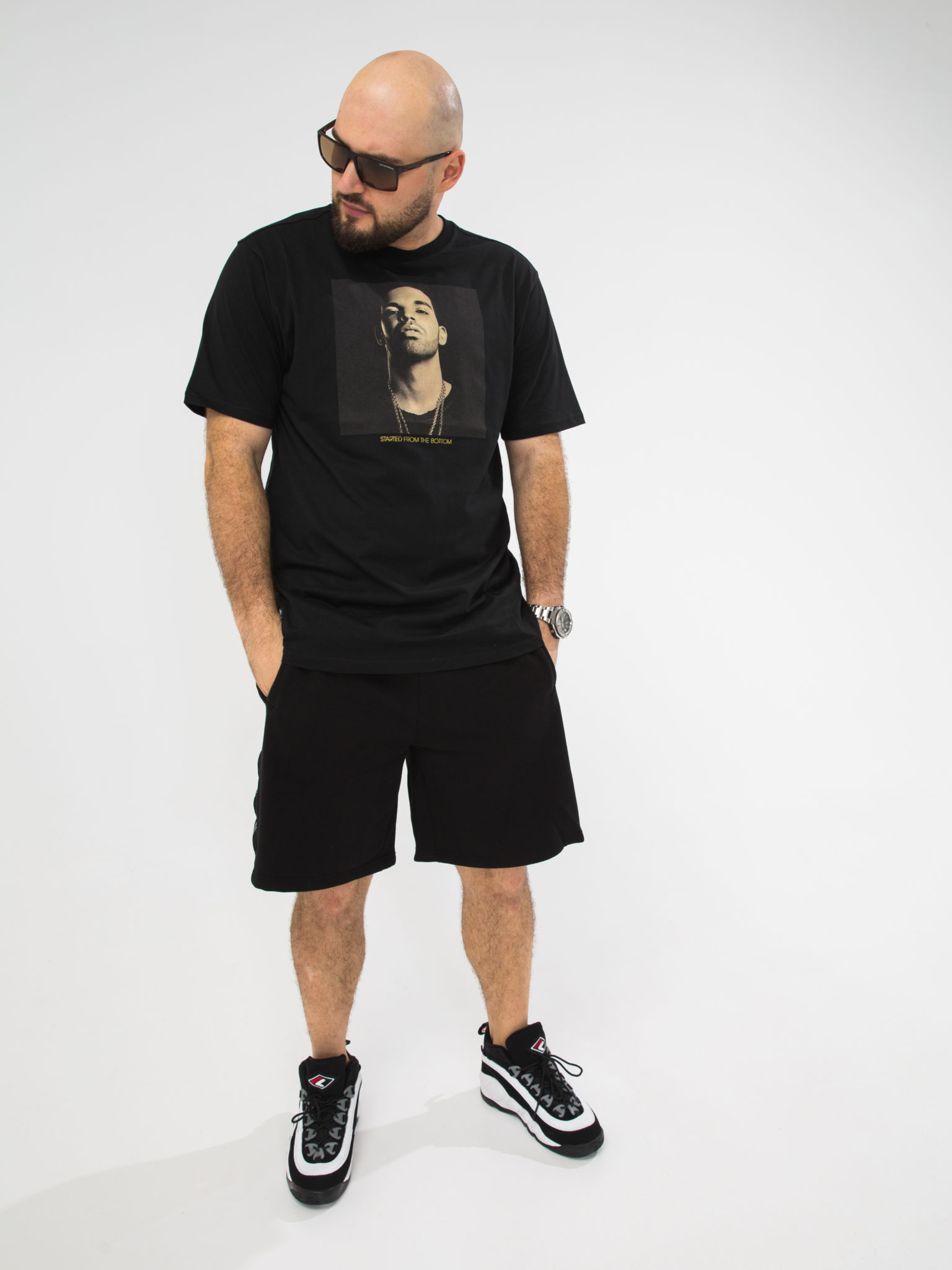 Мужская футболка PELLE PELLE STARTED FROM THE BOTTOM T-SHIRT