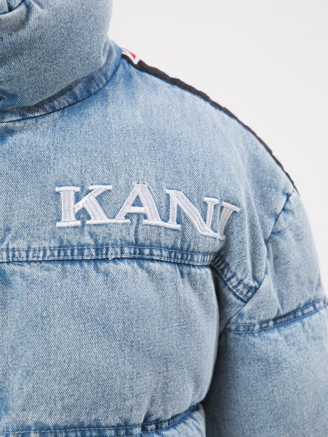 Мужской пуховик KARL KANI RETRO DENIM PUFFER JACKET