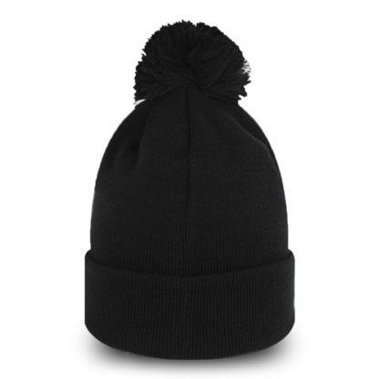 12489460 Черная шапка New Era NY Yankees с помпоном