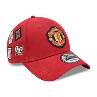 12503535-right2 Бейсболка New Era Manchester United красная
